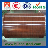 Color Coated Galvanized Steel Coil with Wooden Pattern of Compertitive Price