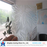 Leaves Sheet Pattern Glass for Building Glass with Good Quantity