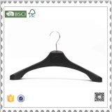 Custom Black Plastic Clothes Hangers H&M Plastic Skirt Hangers