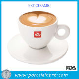 White Personalized Logo Wholesale Coffee Cup