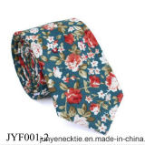 Hot Selling Customed Plant Pattern Mixed Men′s Casual Floral Printed Necktie