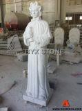 Granite Teresa Sculpture Cemetery Monument / Headstone