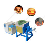 Iron Copper Steel Aluminum Electrical Induction Heating Melting Furnace 70kw