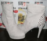 New Collection Fashion High Heel Ladies Ankle Boots (Hcy02-1391)