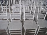 White Wooden Chiavari Tiffany Chair for Wedding