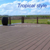 Tropical Style Composite Decking with Good UV-Protection, Guangzhou Supplier