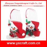 Christmas Decoration (ZY14Y24-1-2) Snowman Boots Decoration Vase