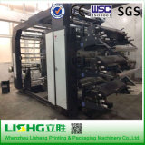 High Speed 6 Colors Plastic PE Film Roll Flexo Printing Machine at Low Price
