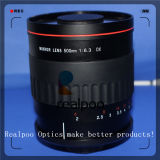 Camera Lens with T Mount Adapter 500mm F/6.3 Mirror Lens for Canon and Nikon