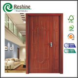 Interior Melamine HDF MDF Moulded Wooden Door