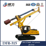 Dfr-315 Hydraulic Auger Drilling Rig Machine