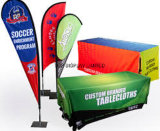 Washable Durable Full Color Advertisement 3D Tablecloth