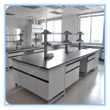 Island Bench Lab Bench Movable School Furnitures