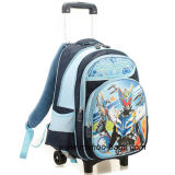 Cartoon Trolley Boys School Backpack for Kids