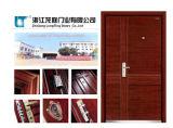 Steel-Wood Armored Door with CE Certificate