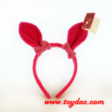 Plush Animal Rabbit Ears Headband for Easter Parties