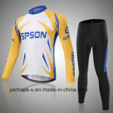 Custom Long Sleeve Cycling Wear with Digital Printing