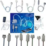 Visible Flowing Light up Cable for iPhone Charger (S2B-2001C)