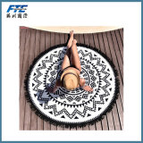New Women Summer Large Bohemia Round Beach Towel Blanket Bat