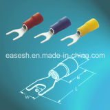 Electrical Insulated Spade/Fork Crimp Terminals with UL