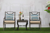 Outdoor Cast Aluminum Stationary Chair Furniture