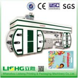 Six Colors High Speed Central Impression Flexo Printing Machine