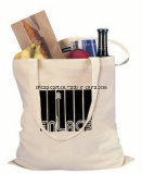 Biodegradable Natural Cotton Canvas Reinforced Jumbo Tote