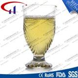 150ml FDA Grade Engraved Clear Coffee Glass (CHM8350)