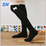 2015 Custom Wholesale Cheap Knit Boot Socks with Lace