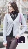 Women′s Cardigan Cashmere Sweater (1500002049)