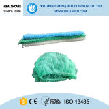 Disposable Colorful Bouffant Cap Surgical Nonwoven Cap