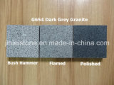 Polished / Flamed / Bush Hammer G654 Dark Grey Granite