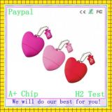 Full Capacity High Quality USB Stick Heart (GC-H078)