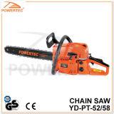 Powertec CE GS Easy Start 52/58cc Gasoline Chain Saw (YD-PT-52)