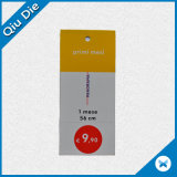 Cheap Garment Hang Tag with Price Sticker