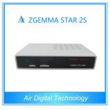 Twin Satellite HD Receiver Zgemma Star 2s DVB-S2 +S2 Twin Tuner Digital Satellite Receiver