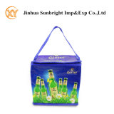Roll Printed PP Woven Promotional Cooler Bag for 6cans