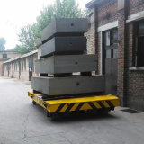 Cement Plant Using Motorized Transfer Vehicle Powered From Conducting Railways