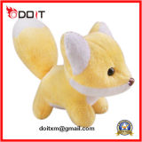 Yellow Stuffed Animal Fox Plush Stuffed Fox Toy
