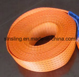 100% Polyester Flat Webbing Sling with Ce GS