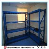 Brushed Stainless Medium Duty Warehouse Adjustable Steel Shelving