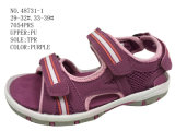 Three Color Stock Men Navy Sandel Shoes