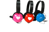 Music Headset Without Mic, Colorful Headphone