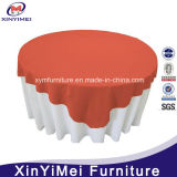 Wholesale Fancy Round Plain Polyester Wedding Table Cloth