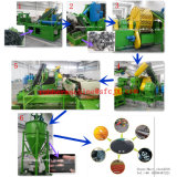 High Automatic Waste/Used Tyre Recycling Production Machine Tyre Crusher Machine with Ce ISO9001 SGS