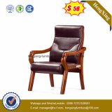 PU/Leather Conference Chair Wooden Arm Conference Hall Chair (NS-CF003)