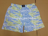 Fashion Aop Men Woven Boxer Short Men′s Underwear
