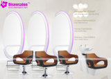 Popular High Quality Salon Mirror Barber Chair Salon Chair (P2044F)