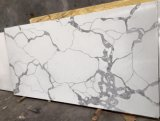 Man Made Calacatta White Quartz Slab/Quartz Countertop