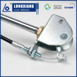 Silver Color High Quality Lockable Gas Spring with Clevis